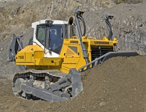 Liebherr PR756 - 1312 Crawler Dozer Service Repair Workshop Manual DOWNLOAD
