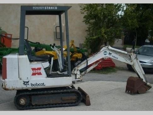 Bobcat 220 Excavator Service Repair Workshop Manual DOWNLOAD (S/N 15001 & Above)