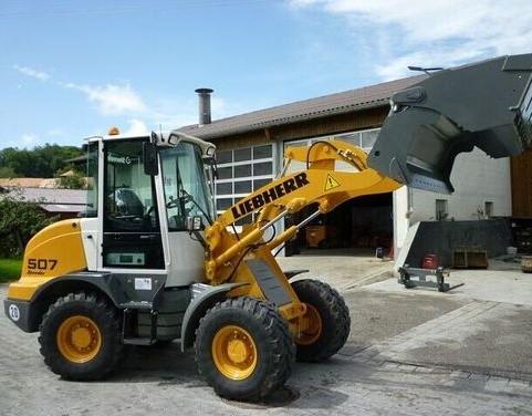 Liebherr L507 - 1259 Wheel loader Service Repair Workshop Manual DOWNLOAD