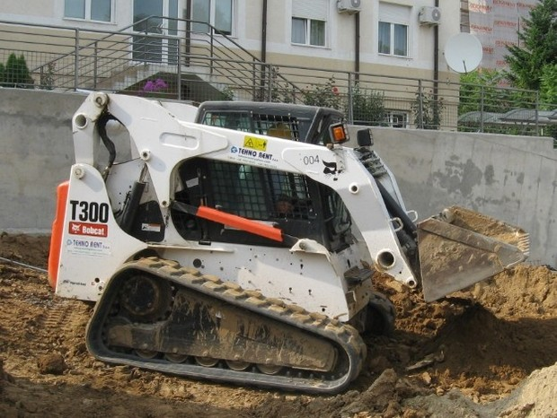 Bobcat T300 Compact Track Loader Service Repair Manual (S/N A5GU20001 & Above, A5GV20001 & Above )