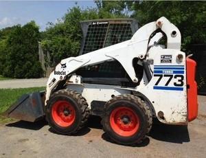 Bobcat 773 Skid Steer Loader Service Repair Workshop Manual DOWNLOAD
