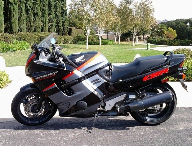 Honda cbr1000f manual free.