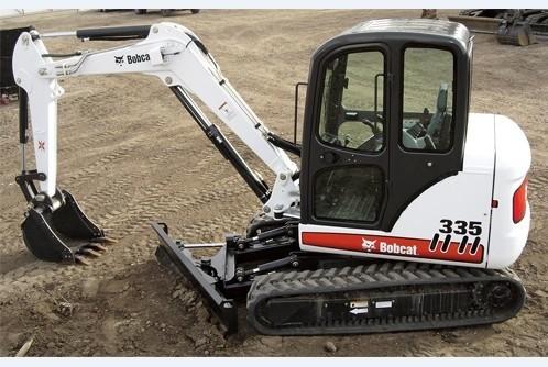 Bobcat 335 Compact Excavator Service Repair  Manual DOWNLOAD (S/N A16U11001 & Above)