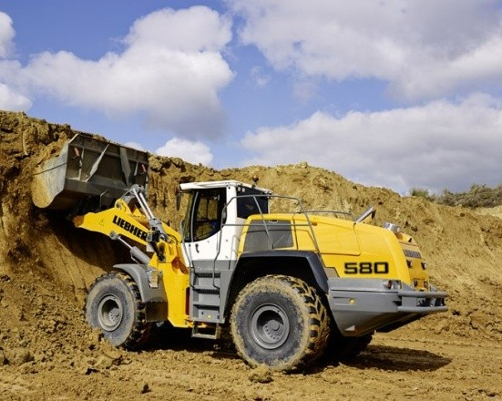 Liebherr L580 - 1456 Wheel loader Service Repair Workshop Manual DOWNLOAD