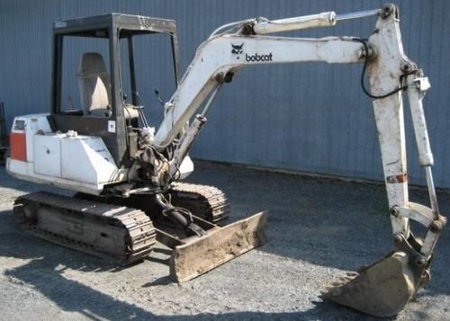 Bobcat X100 Excavator Service Repair Workshop Manual DOWNLOAD