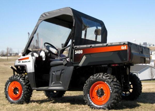 Bobcat 3400, 3400XL Utility Vehicle Service Repair Manual  (S/N AJNU11001 , AJNW11001 & Above)
