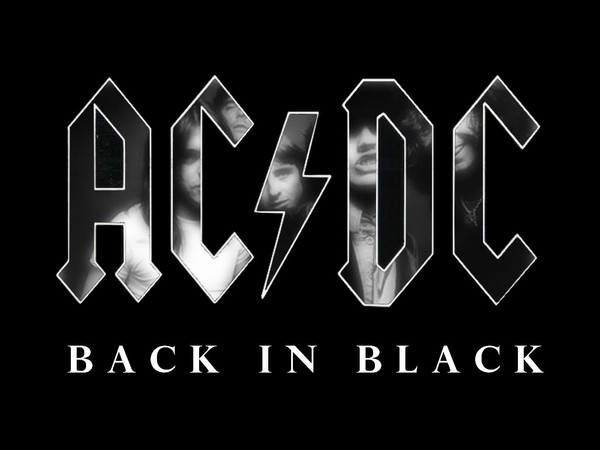 BACK IN BLACK - AC/DC Full drum chart