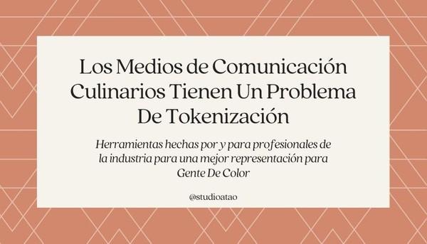 Toolkit: Tokenización en Medios de Comunicación Culinarios