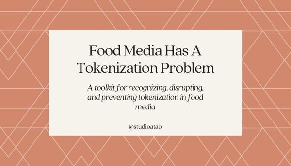 Toolkit: Tokenization in Food Media