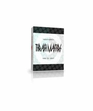 HDM Thrash Masters MIDI Groove Library