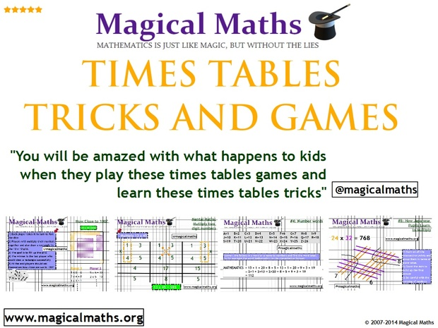 TOP TIPS, TRICKS & GAMES TO IMPROVE YOUR MATHS TIMES TABLES SKILLS