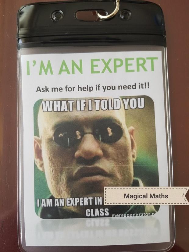 I am an Expert Meme Lanyards