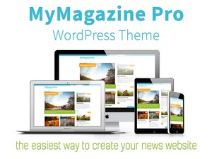 Mymagazine Pro WordPress Theme