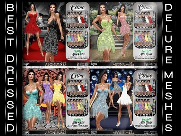 IMVU File Sale! Celine 10 Colors Texture Pack
