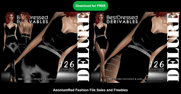 IMVU FREEBIE! BD126 : 2 Outfits