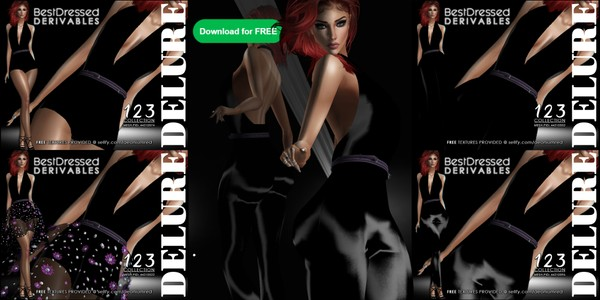 IMVU FREEBIE! BD123 : 5 Outfits