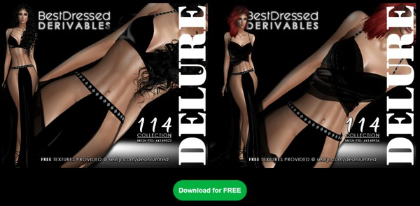 IMVU FREEBIE! BD114 : 2 Outfits