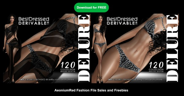IMVU FREEBIE! BD120 : 2 Outfits