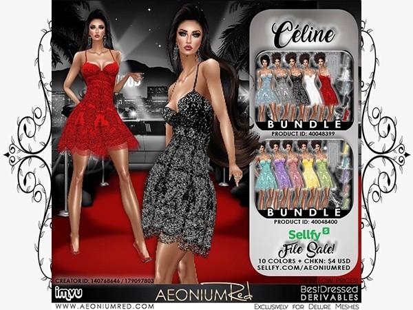 IMVU File Sale! Celine 10 Colors Texture Pack
