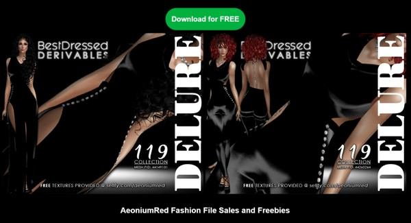 IMVU FREEBIE! BD119 : 2 Outfits