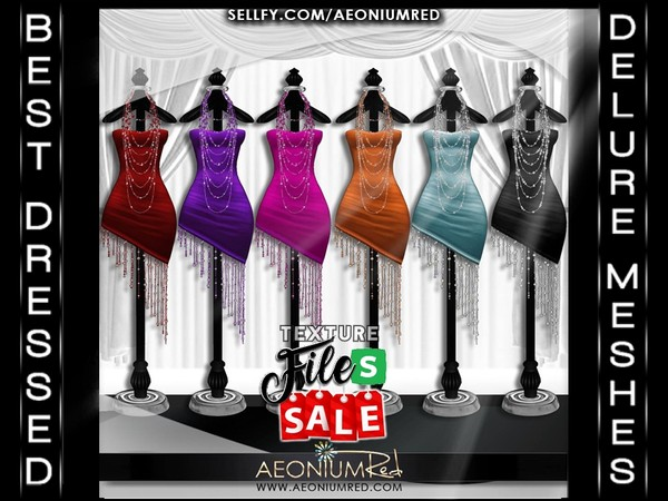 Imvu File Sale! Sexy Cocktail Dress Collection