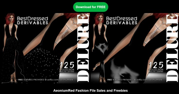 IMVU FREEBIE! BD125 : 2 Outfits