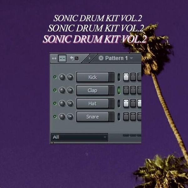 SONIC DRUM KIT VOL.2 (2018)
