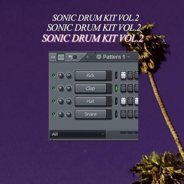SONIC DRUM KIT VOL 2 (2018)
