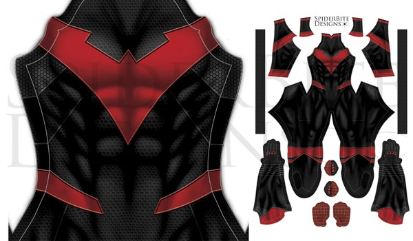 Nightwing red