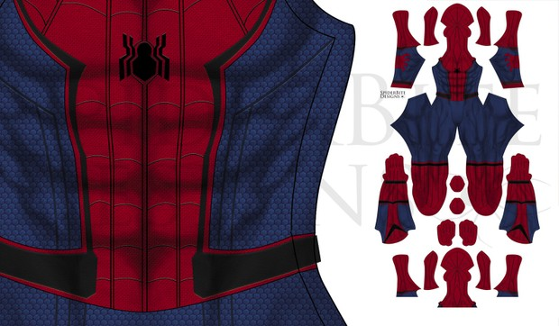 Spiderman Civil War extra mask