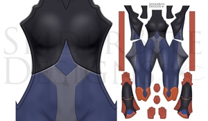 Ezor Voltron Undersuit