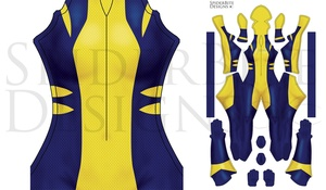 All New Wolverine more blue no boots