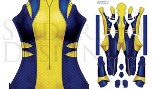 All New Wolverine More Blue