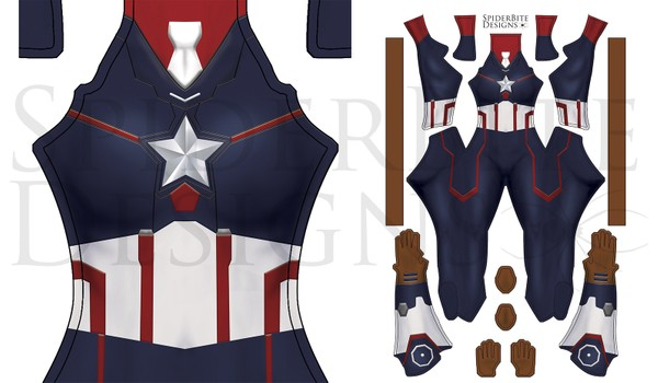 captain America Peggy Carter V2
