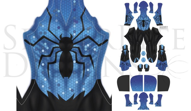 Digital Spiderman Black