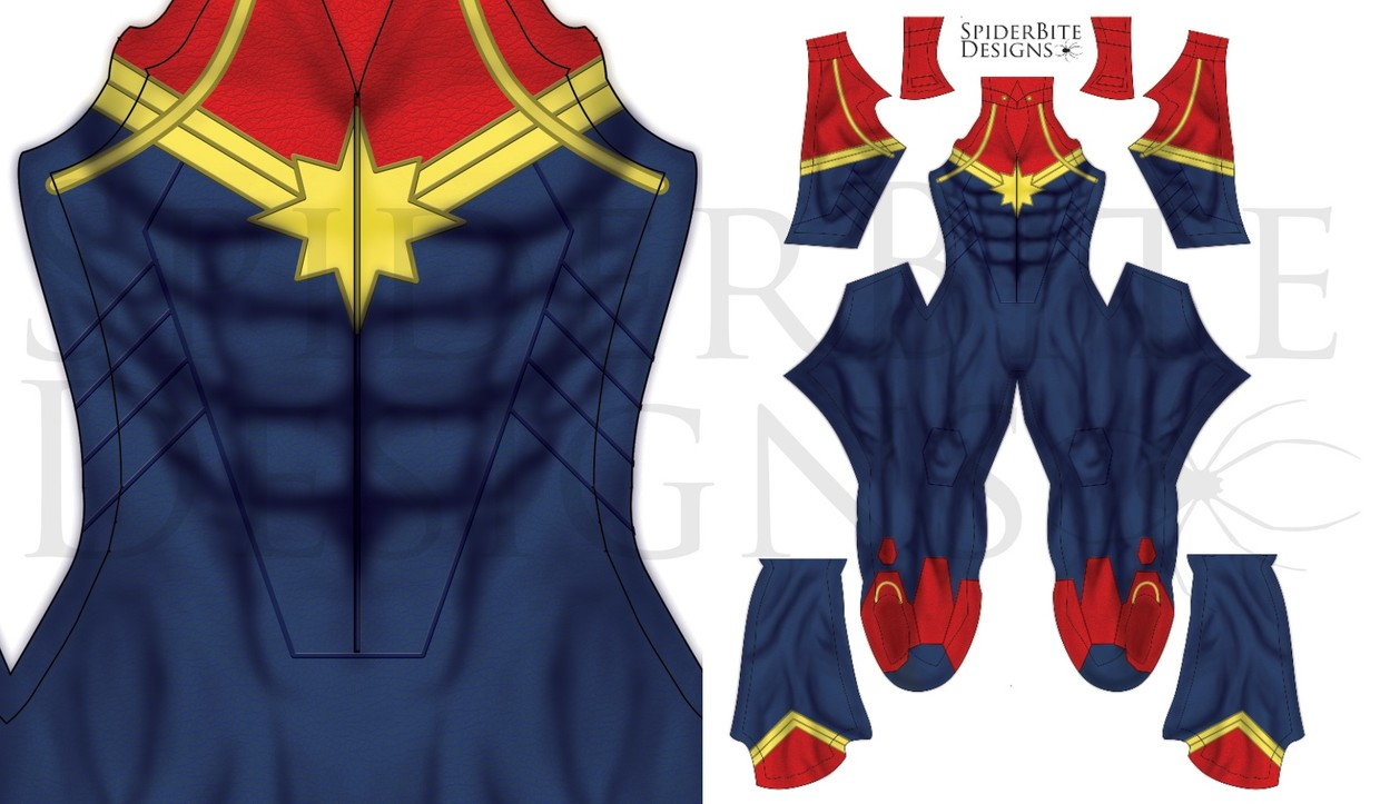 Captain Marvel Male 3 Spiderbite Designs A wide variety of captain marvel costume options are available to you, such as supply type, costumes type, and holiday. captain marvel male 3
