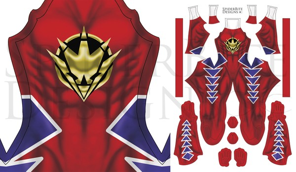 Power Ranger DT Red