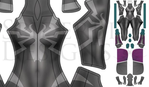 Gwenom design by Rockheart