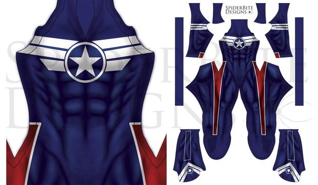 Captain America Director of SHIELD costume