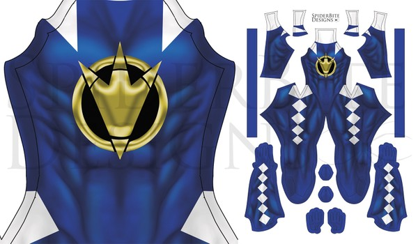 power Ranger DT blue