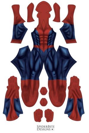 Peter ultimate Spiderman Comics ( 4 suits)