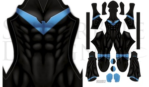 Nightwing Rebirth no honeycomb Dark