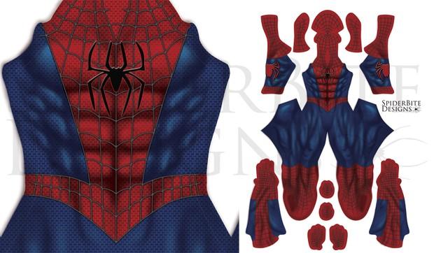 Spiderman new animated series suit