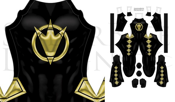 Power Ranger Dino Thunder Black