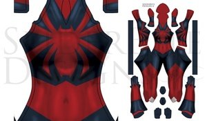 Scarlet Spider MJ: original concept by FooRay on Deviant art texture