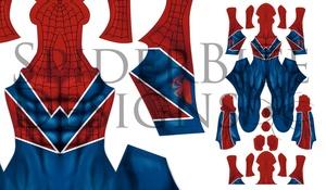 spiderman punk untextured