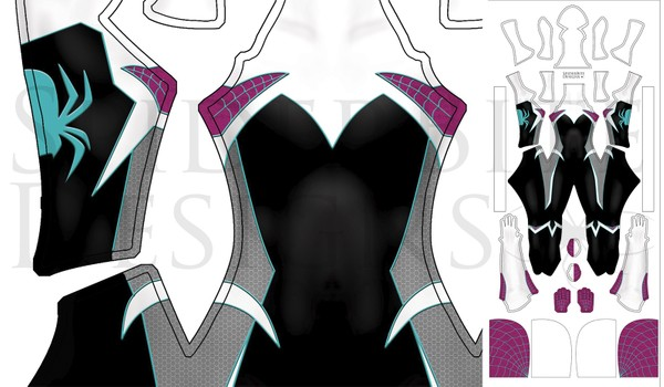 Ghost Spider Gwen female