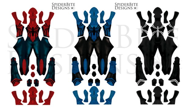 Spidergirl Pack 3 suits