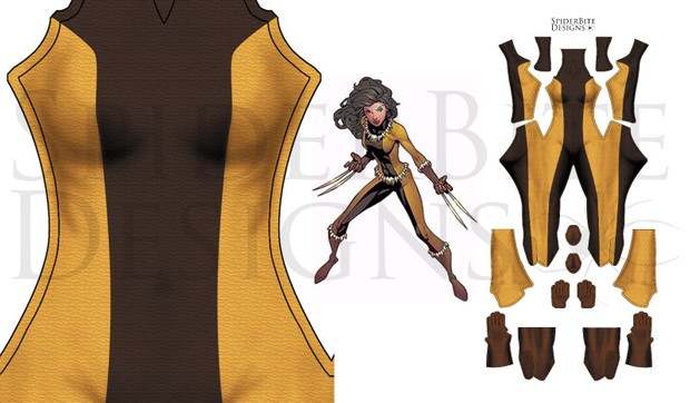 X-23 Fang costume (Laura Kinney)