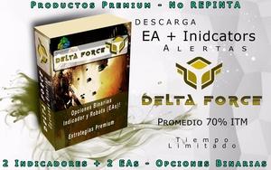 70% ITM * Robot Delta Force para Opciones Binarias